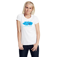 Size XS Woman Charity Fairtrade T-Shirt white