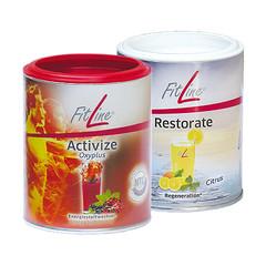 FitLine 2 x Activize Oxyplus & 2 x Restorate