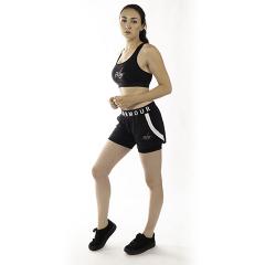 FitLine Under Armour Damen Play up 2-in-1 Shorts schwarz