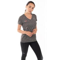 FitLine Under Armour Damen Tech Twist T-Shirt schwarz