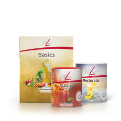 FitLine Optimal-Set  (Basics, Restorate Citrus Dose, Activize)