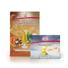 FitLine Optimal Set Powercocktail & Restorate Portion