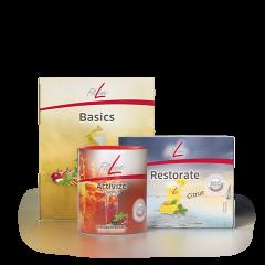 FitLine Optimal-Set (Basics, Resto Citrus, Activize)