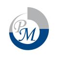 PM Logo Aufkleber