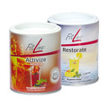 FitLine Abo 2x Activize Oxy Sensitive + 2x Restorate Citrus Dose