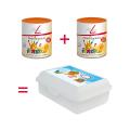2 x FitLine PowerCocktail Junior + 1 FitLine matboks på kjøpet!