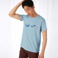 PM Motto 2021 Herren T-Shirt eisblau