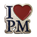 I Love PM pinssi
