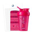 Blender pullo & Expansionpack Pinkki