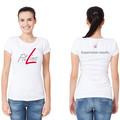 Naisten Fairtrade puuvilla T-Paita Valkoinen